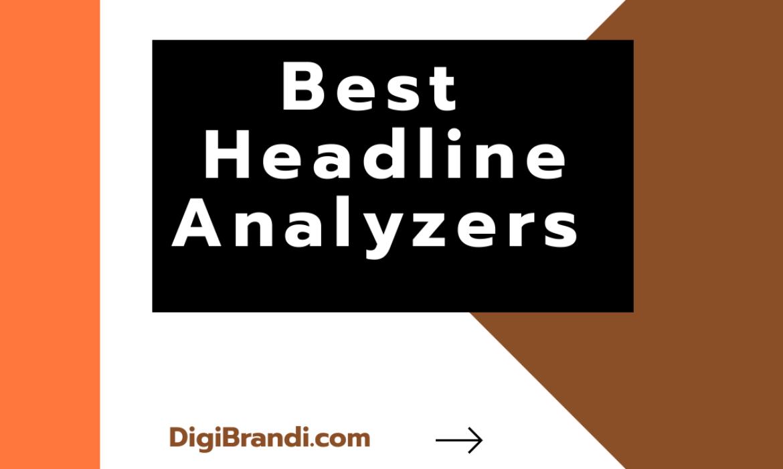 Best Headline analyzers