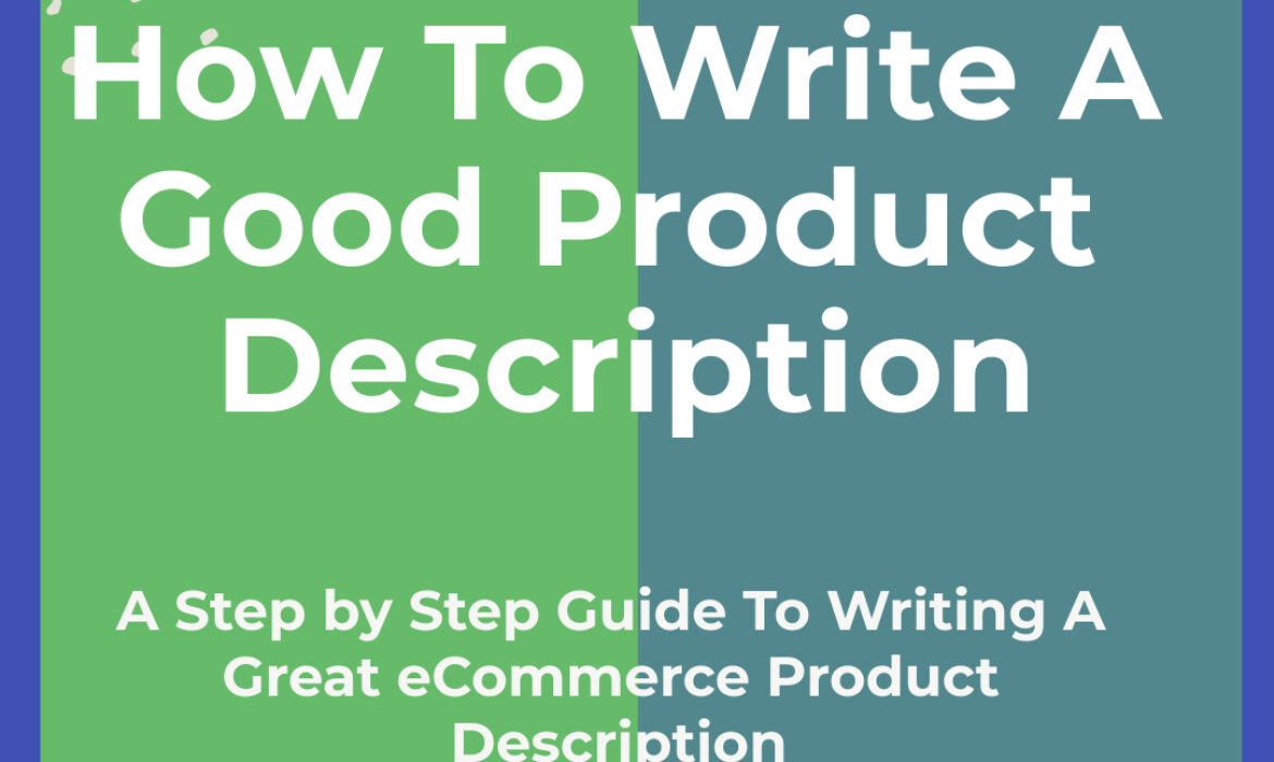 how to write a good product description